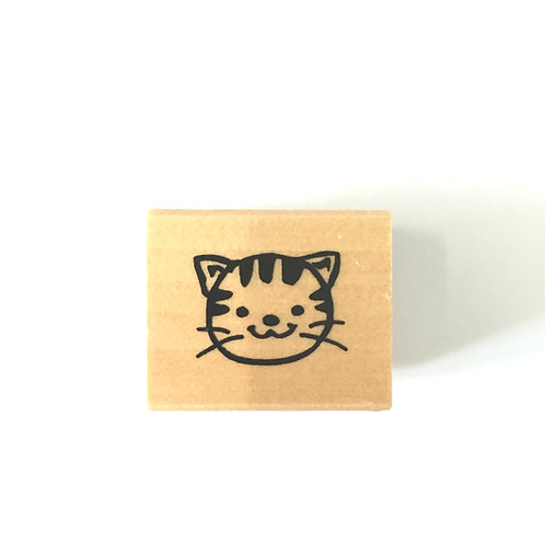cat rubber stamp
