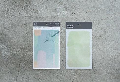 MU Print-On Sticker - Summer Field 010
