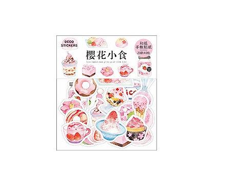 dessert sticker