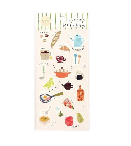 miki tamura kitchen sticker