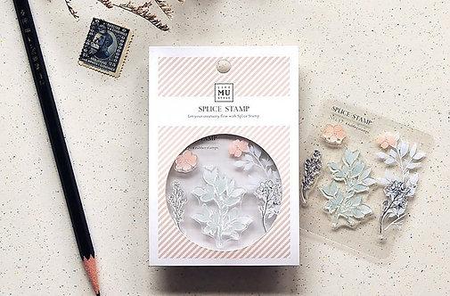 MU Clear Stamp Floral, Splice Stamp