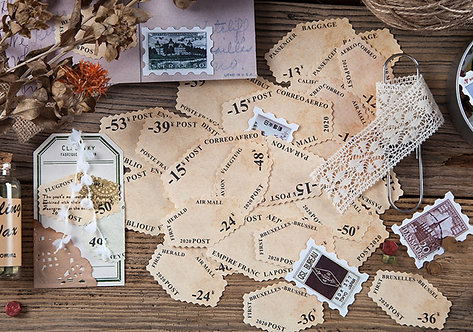 Postage Stamp Labels (Choose Design)