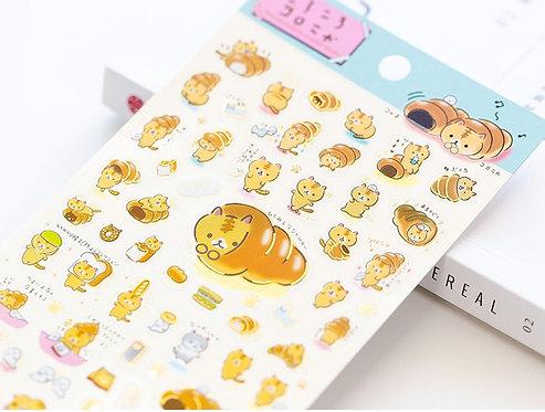 Sumikko Gurashi Neko Sticker Sheet I