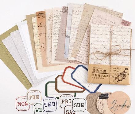 Manuscript Theme Papers Pack