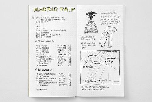 Traveler's Notebook 026 Dot Grid Refill, Regular Size