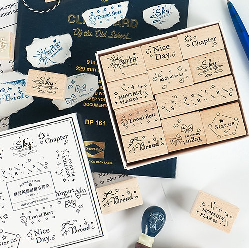 quotes rubber stamps