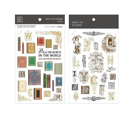 MU Print-On Sticker - Secrets 128