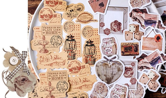 Vintage Things Sticker Flakes Pack