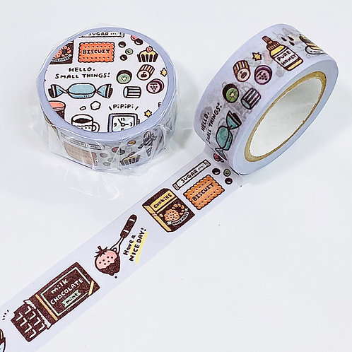 Papier Platz eric small things washi tape dessert