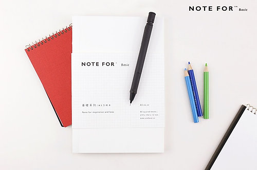 Basic TN Inserts Notebook (Blank White Cover)