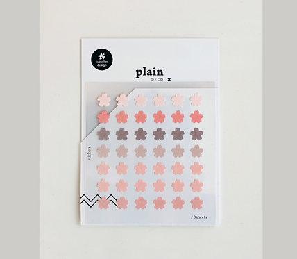 suatelier sticker plain flower 1666