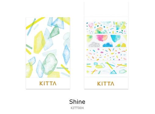 KITTA Clear PET Tape - Shine KITT004