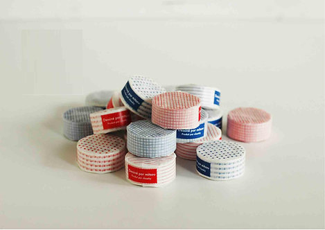 Classiky Mitsou pattern washi tapes