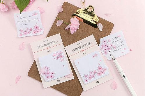 Sakura (Cherry Blossom) Sticky Notes / Post it Notes Series