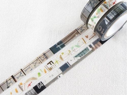 Chamil Garden Colors of Season Washi Tapes Set - MUSHIKURI