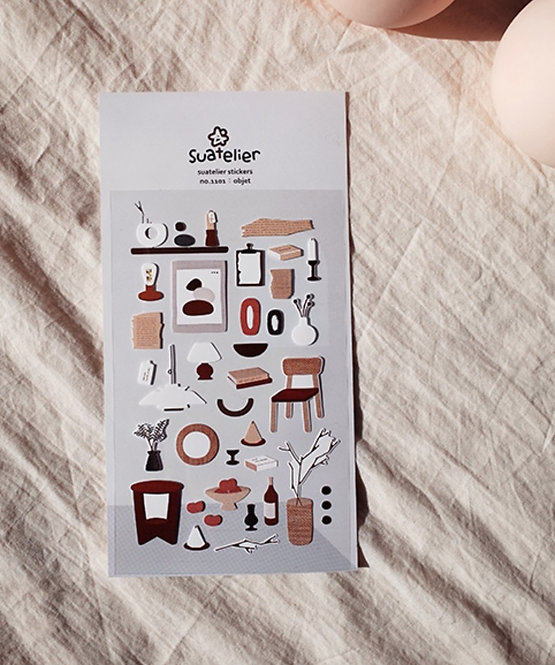 Suatelier Stickers Objet