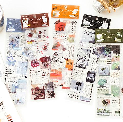 Deco PET Tape Strips (Choose Color Theme)