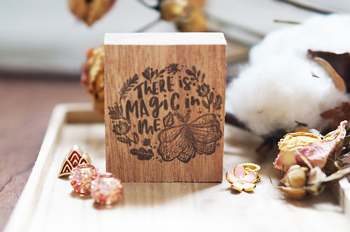 Black Milk Project Rubber Stamp -Magic In Me