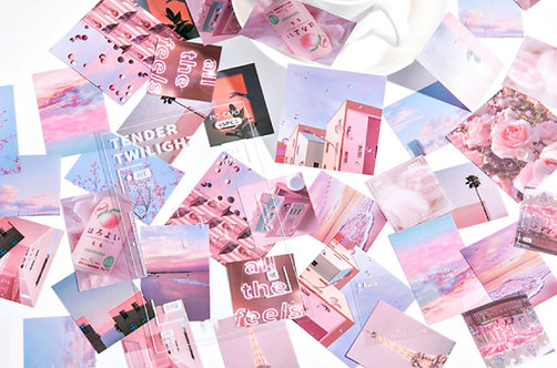 Tender Twilight PET Stickers Pack
