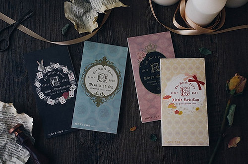Fairy Tale Memo Series by NOTE FOR