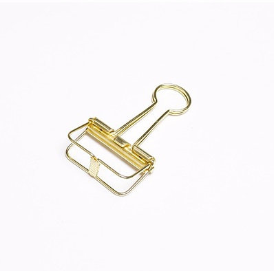 Binder Clips - Medium, Gold