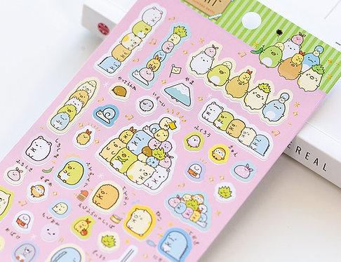Sumikko Gurashi Sticker Sheet