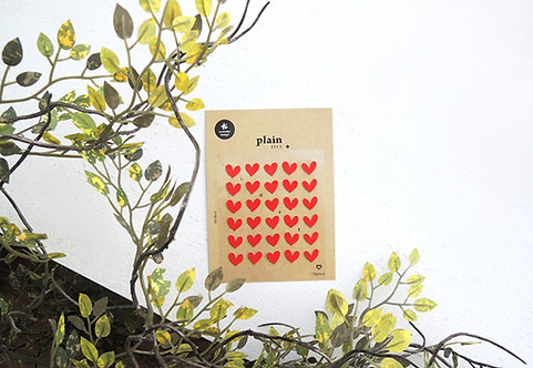 suatelier sticker plain love 1608