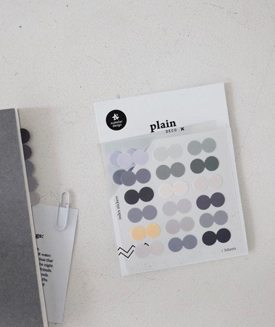 Suatelier Plain Index Stickers