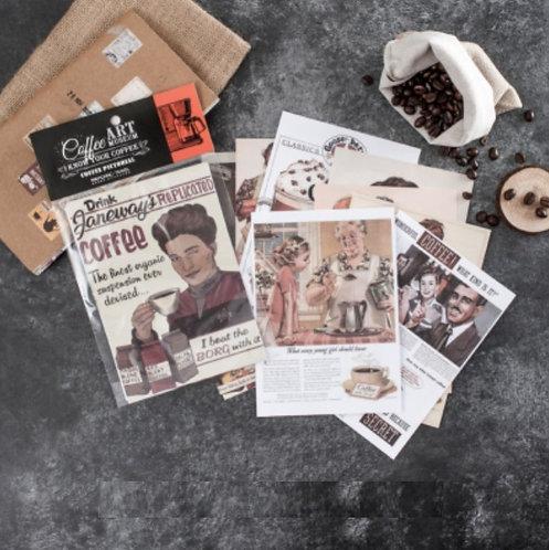 coffee paper advertisement