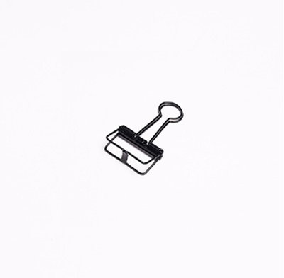 Binder Clips - Small, Black