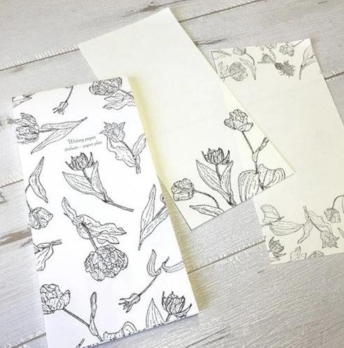 Papier Platz Hutte Letter pad
