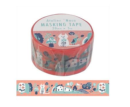 kodomo no kao atelier naco washi tape