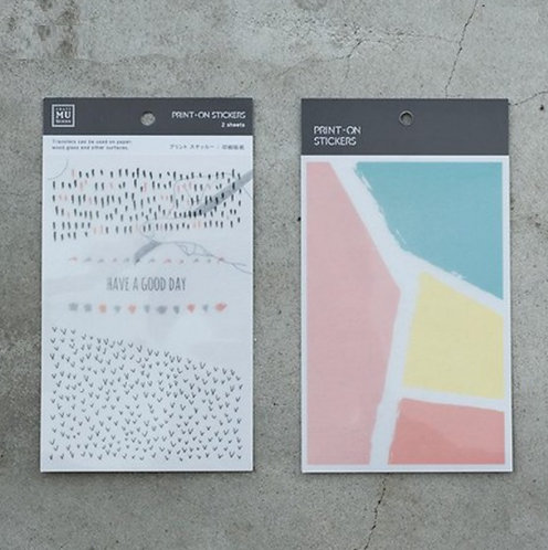 MU Print-On Sticker - Fairy Tale 021