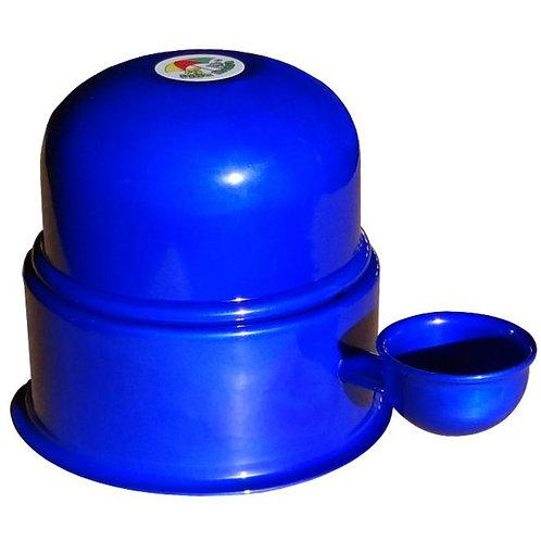 Bebedouro Vida Mansa Aluminio Azul Cobalto 700 ML