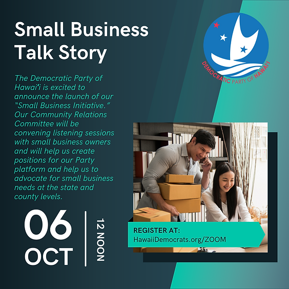 Small Business Talk Story