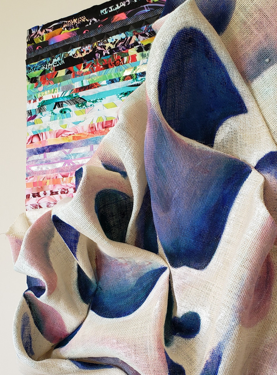 Sunday blues are rosy (detail)