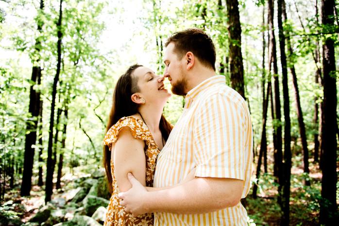 Adam + Amanda: Pinnacle State Park