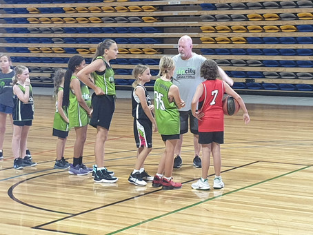 Macca can't refuse the joy of coaching junior basketball
