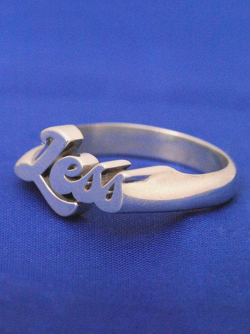 Lavoe ring Silver