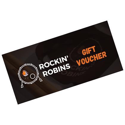 Rockin' Robins Lesson Voucher