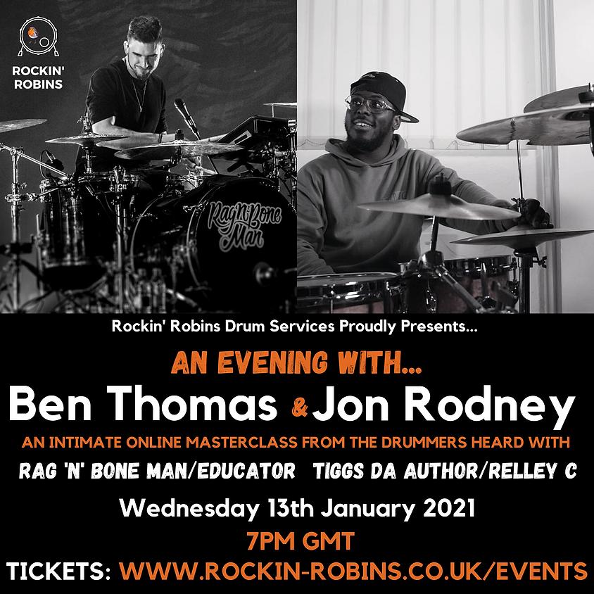 Ben Thomas & Jonathon Rodney Online Masterclass