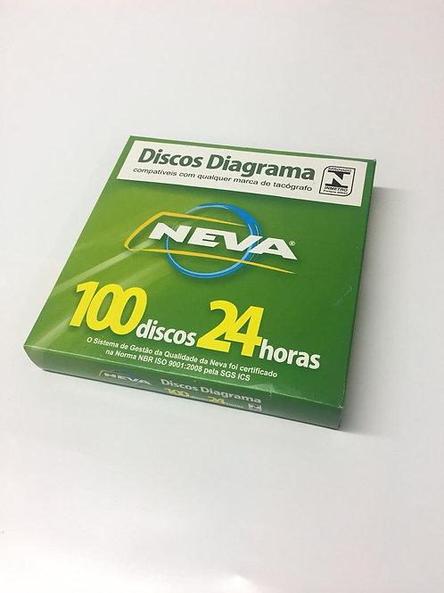 DISCO DE TACÓGRAFO DIÁRIO