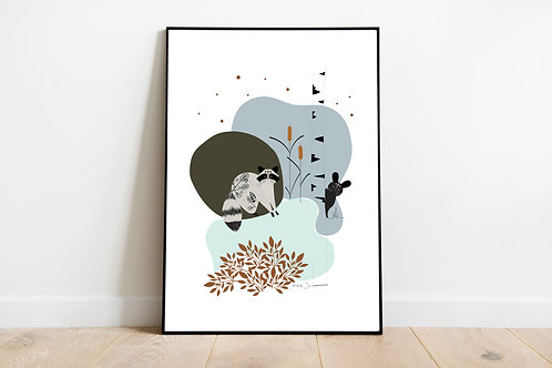 Mon affiche Forêt
