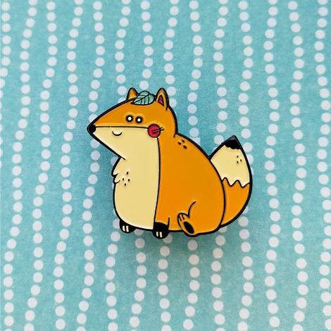 Cute-Fox-Pin