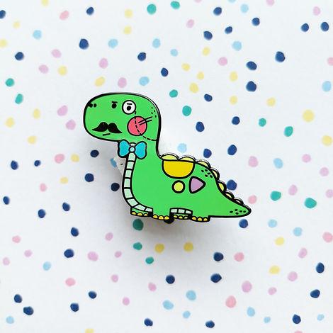 Cute Dinosaur Pin