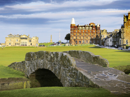 SOMETHING OLD (The Old Course), Something New (Dumbarnie Links), Something to Look Forward to