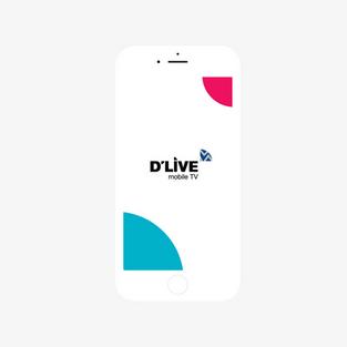 D'LIVE 스마트 모바일 TV