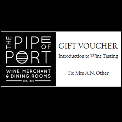 Introduction to Wine Tasting Gift Voucher