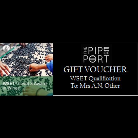 WSET® Level 3 Award in Wines Gift Voucher
