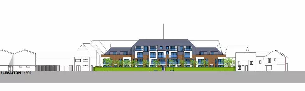 East Acorn Street Proposed Elevation2